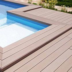 tarima para piscina exteriores